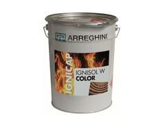 Pittura intumescente bianca idrodiluibileIGNISOL W COLOR - CAP ARREGHINI