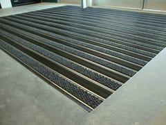 Zerbino tecnico carrabile in alluminio estrusoTECNOMAT K5 23 MM - BAIO DI BAIO SAMUELE