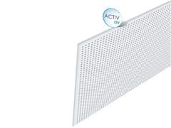 Pannelli per controsoffitto acustico in cartongesso Rigitone™ Activ'Air® 10/23 - Rigitone™ Activ'Air®