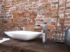 Miscelatore per lavabo monocomando con flessibile di alimentazione senza scarico LIBERA | Miscelatore per lavabo - LIBERA