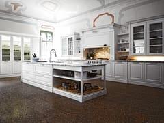 Cucina laccata con isola ELITE - COMPOSIZIONE 2 - Elite