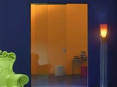 Controtelaio per porte scorrevoli ad ante parallele in vetro ESSENTIAL DUAL - Essential by Scrigno