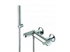 Miscelatore per vasca a muro con doccetta ROUND | Miscelatore per vasca con doccetta - Round