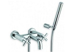 Rubinetto per vasca a muro con doccetta EXCLUSIVE | Rubinetto per vasca con doccetta - Exclusive