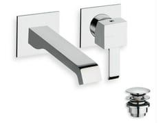 Miscelatore per lavabo a muro monocomando QUADRI | Miscelatore per lavabo a muro - Quadri