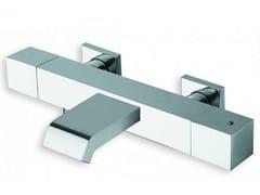 Miscelatore per vasca a muro termostatico QUADRI | Miscelatore per vasca termostatico - Quadri