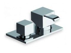 Miscelatore per vasca monocomando con deviatore QUADRI | Miscelatore per vasca con deviatore - Quadri