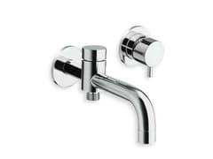 Miscelatore per vasca a 2 fori a muro TRICOLORE VERDE | Miscelatore per vasca a 2 fori - Tricolore Verde