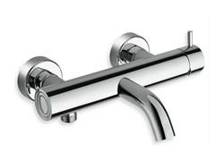 Miscelatore per vasca a muro monocomando TRICOLORE VERDE | Miscelatore per vasca - Tricolore Verde