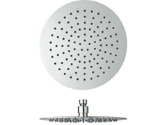 Soffione doccia a soffitto cromato con sistema anticalcare SANDWICH | Soffione doccia cromato - Sandwich