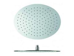 Soffione doccia a soffitto cromato con sistema anticalcare SANDWICH | Soffione doccia con sistema anticalcare - Sandwich