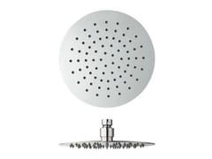 Soffione doccia a soffitto cromato con sistema anticalcare SANDWICH | Soffione doccia - Sandwich