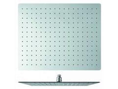 Soffione doccia a soffitto cromato con sistema anticalcare SANDWICH | Soffione doccia a soffitto - Sandwich