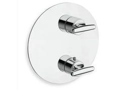 Rubinetto per doccia termostatico con piastra SELTZ | Rubinetto per doccia termostatico - Seltz