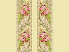 LELIEVRE, TASSINARI & CHATEL - FOUGERE BORDURE Tessuto da parete da tappezzeria in seta in stile Luigi XVI con motivi floreali
