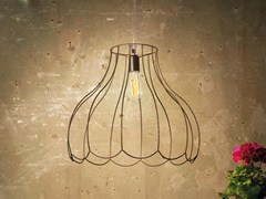 Lampada a sospensione in ferro LUCILLA | Lampada a sospensione - Lucilla