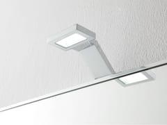 Lampada da parete a LED in metallo cromatoApplique bagno - REXA DESIGN