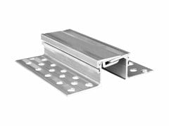 Expansion joint profiles for floors with heavy duty traffic