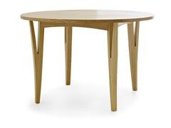 Tavolo rotondo in legno masselloMORAAR | Tavolo rotondo - PASSONI