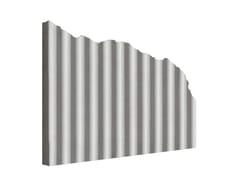 Matrice per parete facciavista in calcestruzzoMANO© ONDULATO - PLASMACEM