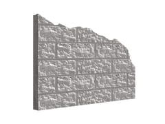 PLASMACEM, MANO© BLOCKSTONE Matrice per parete facciavista in calcestruzzo