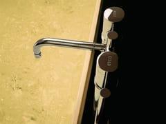 Rubinetto per vasca da terra con doccetta SAVOIR | Rubinetto per vasca da terra - Savoir