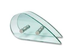 Nuova Oxidal, GOCCIA Maniglia per box doccia in acciaio e vetro