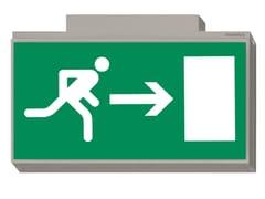 Luce di emergenza / cartello segnalatoreLISU | Cartello segnalatore per interni - DAISALUX
