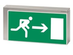 Luce di emergenza / cartello segnalatoreLISU | Cartello segnalatore - DAISALUX