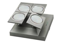 Luce di emergenza a LED a soffitto orientabileZENIT | Luce di emergenza orientabile - DAISALUX