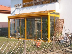 Veranda in alluminio e vetroVeranda - FRUBAU