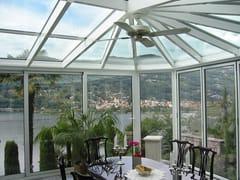 FRUBAU, Giardino d'inverno Giardino d'inverno in alluminio e vetro