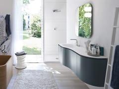 Mobile lavabo laccato con specchio COMP MSP10 - My Seventy Plus