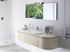 Mobile lavabo singolo con specchio COMP MSP13 - My Seventy Plus