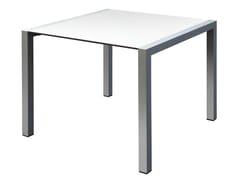 Tavolo quadrato in alluminio SPACE | Tavolo quadrato -