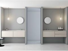 Mobile lavabo laccato con cassetti STRATO | Mobile lavabo laccato - Strato