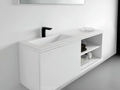 Mobile lavabo laccato con ante STRATO | Mobile lavabo - Strato