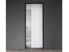 Porta d'ingresso blindata in acciaio inox e legno SUPERIOR - 16.5026 M16 - Professional