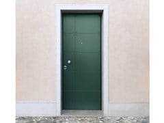Porta d'ingresso blindata laccata in okoumé SUPERIOR - 16.5024 M16 - Professional