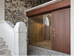 Porta d'ingresso blindata in legno e vetro ELITE - 16.5096 M80Vip - Professional