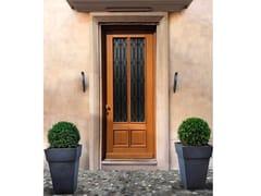 Porta d'ingresso blindata in legno e vetro ELITE - 16.5042 M60Vip - Professional