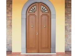 Porta d'ingresso blindata in rovere ad arco ELITE - 16.5063 M60Vip - Professional
