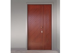 Porta d'ingresso blindata in iroko ELITE - 16.5068 M60Vip - Professional