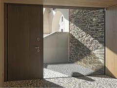 Porta d'ingresso blindata in legno e vetro ELITE - 16.5097 M80Vip - Professional
