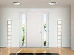 Porta d'ingresso blindata laccata in MDF con pannelli in vetro SUPERIOR - 16.5098 M16 - Professional