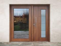 Porta d'ingresso blindata in legno e vetro SUPERIOR - 16.5082 M16 - Professional