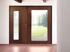 Porta d'ingresso blindata in legno e vetro SUPERIOR - 16.5083 M16 - Professional