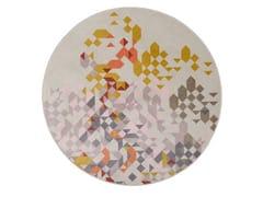 Tappeto rotondo Jacquard stampato a tessituraPROFUMO DI LAVANDA NEW | Tappeto rotondo - MEMEDESIGN