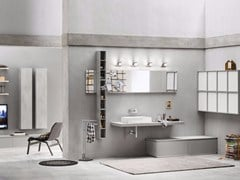 Sistema bagno componibilePROGETTO+ - Composizione 2 - INDA®