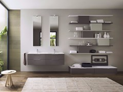 Sistema bagno componibile PROGETTO - Composizione 4 - Progetto